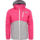 """The North Face Youth Snowquest Plus Jacket Petticoat Pink"""